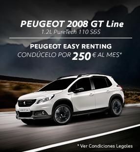 Peugeot 2008 cuota 3