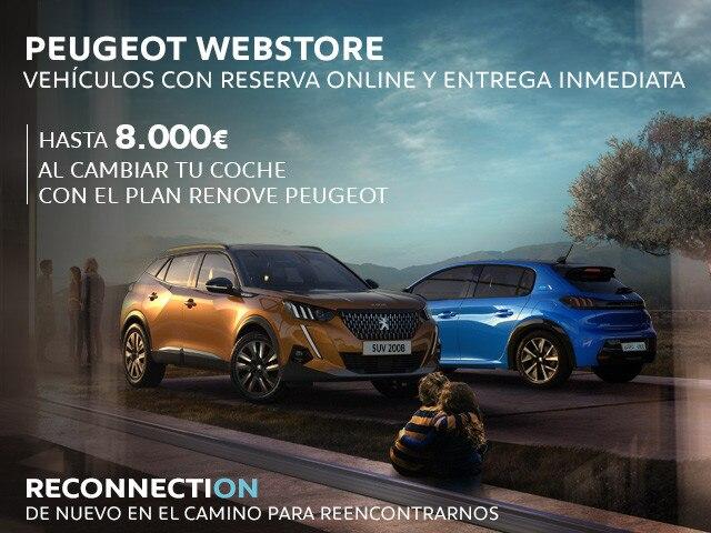 Peugeot Webstore Reconnection