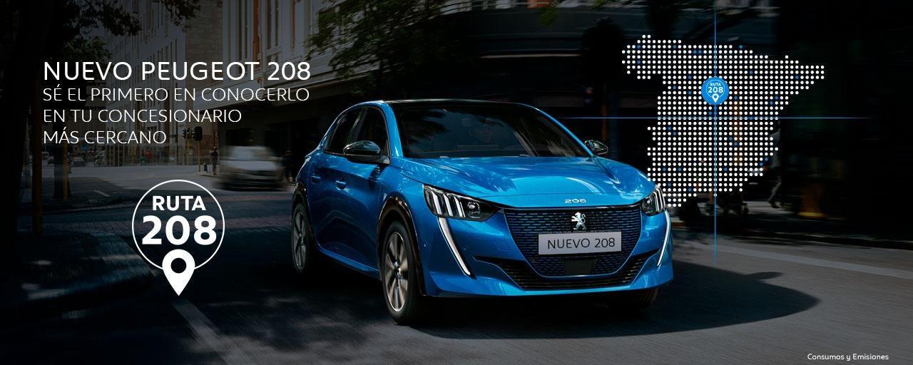 Nuevo Peugeot 208 - Ruta 208