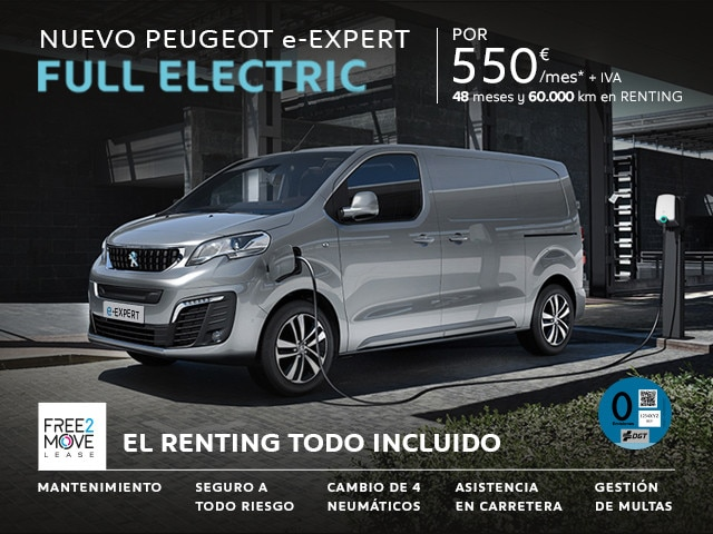 Peugeot e-Expert Reconnection