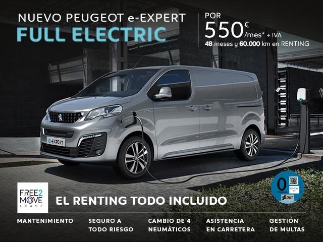 Peugeot e-Expert Reconnection