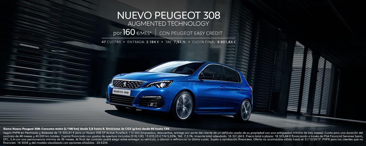 Mainbanner Home Nuevo Peugeot 308 Berlina Legales