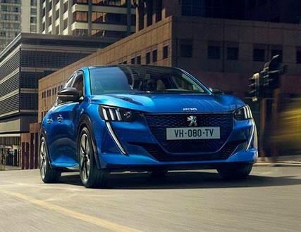 Gama de vehículos eléctricos Peugeot