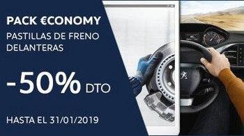 Pack Economy Pastillas de Freno