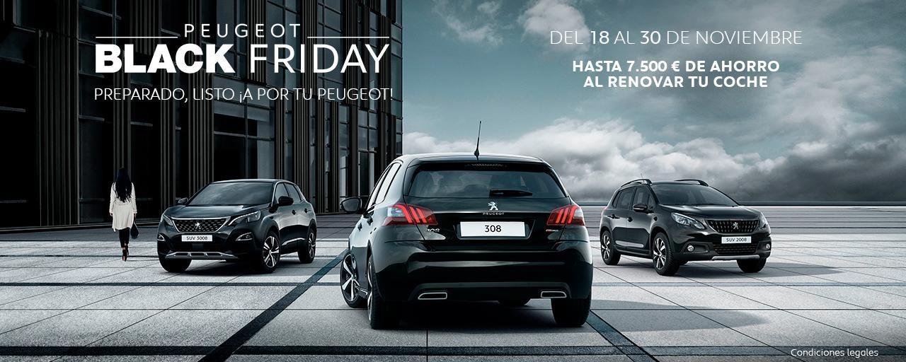 Black Friday Peugeot