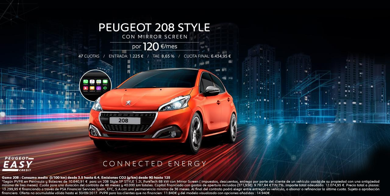 Peugeot 208 - oferta