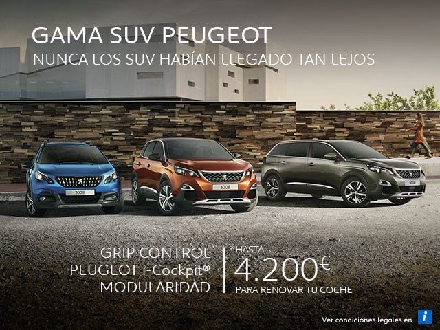 Gama SUV Peugeot Mayo