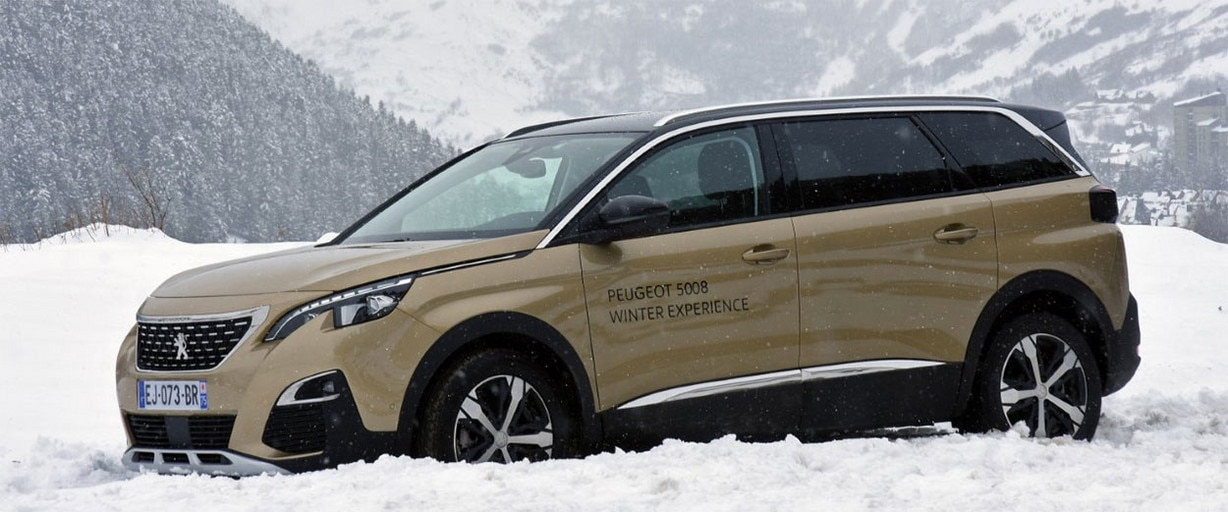 Peugeot 5008 Winter Experience