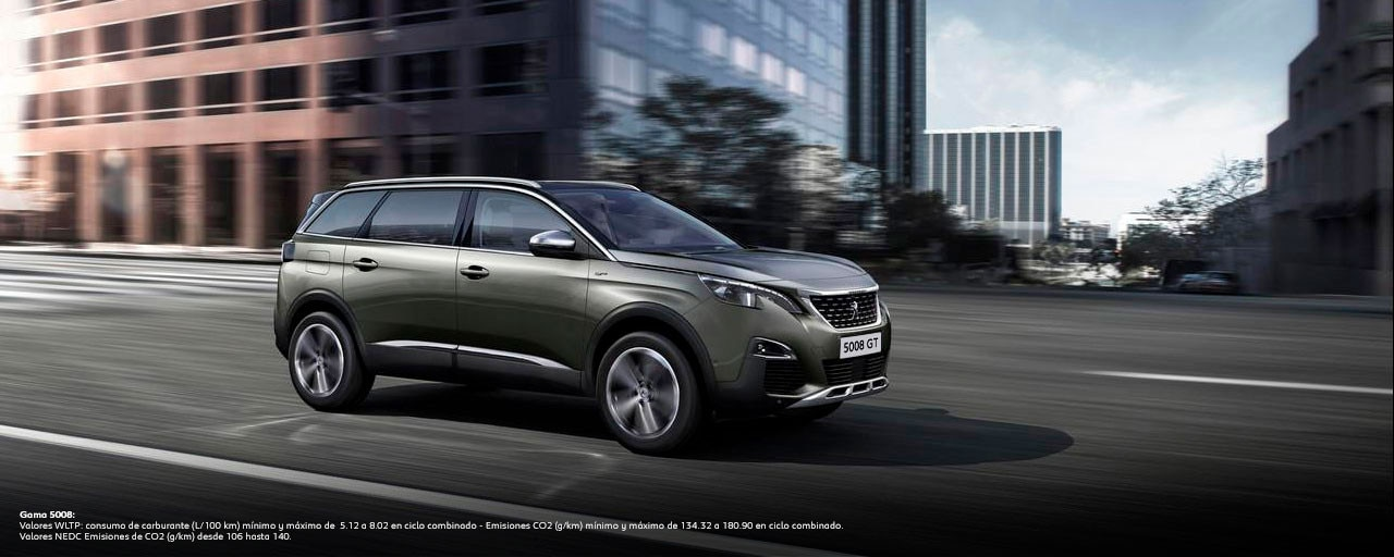 SUV Peugeot 5008 GT Deportivo 7 Plazas WLTP