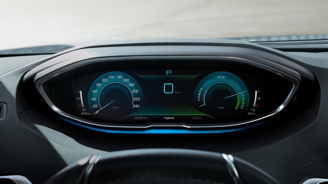 Nuevo SUV PEUGEOT 3008 HYBRID – Cuadro de mandos digital de alta calidad de visualización
