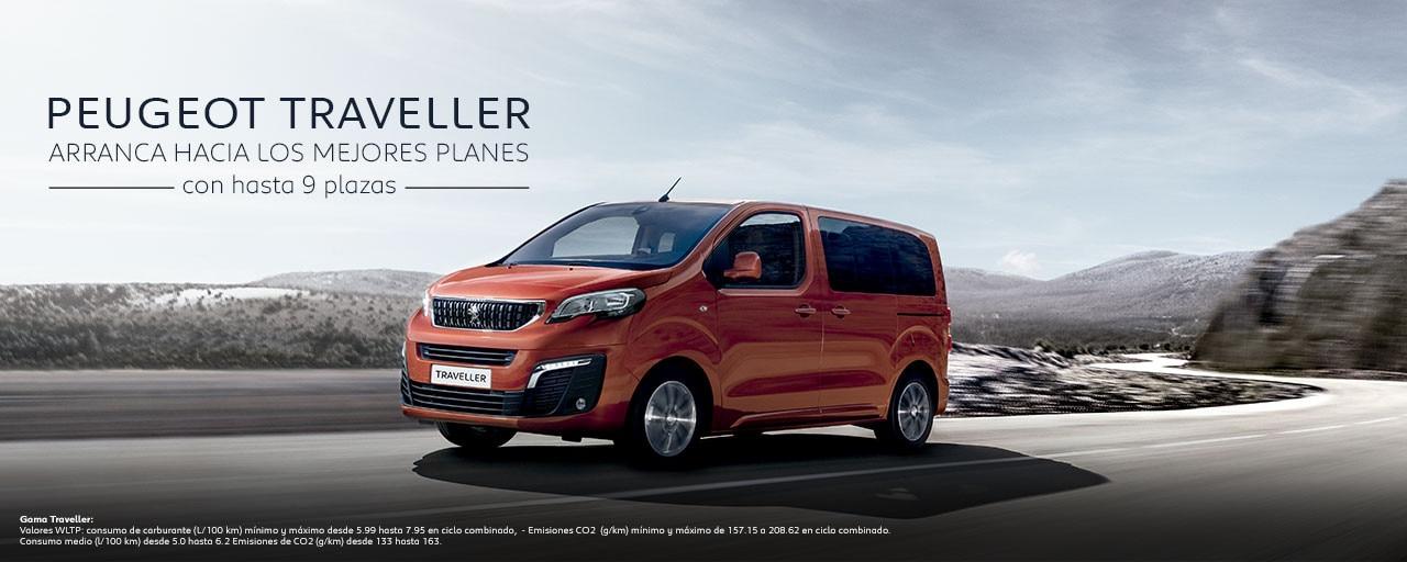 Mainbanner Peugeot Traveller Combi WLTP