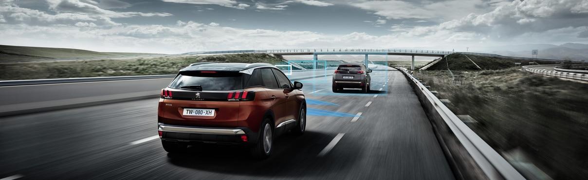 Ayudas a la seguridad Peugeot.