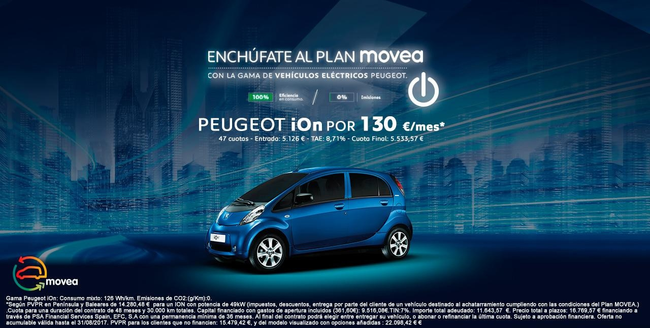 Peugeot Ion - Plan Movea