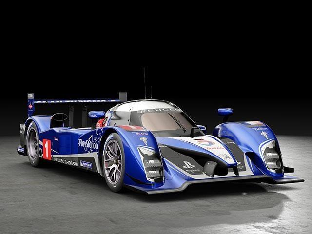 Coche deportivo Peugeot Sport