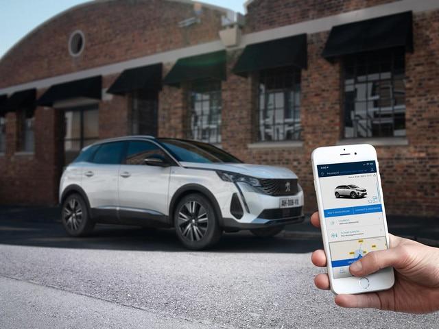 Nuevo SUV PEUGEOT 3008 HYBRID – Aplicación MyPeugeot