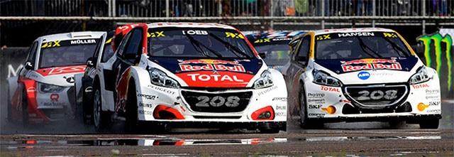 Peugeot 208 WRX podios Riga