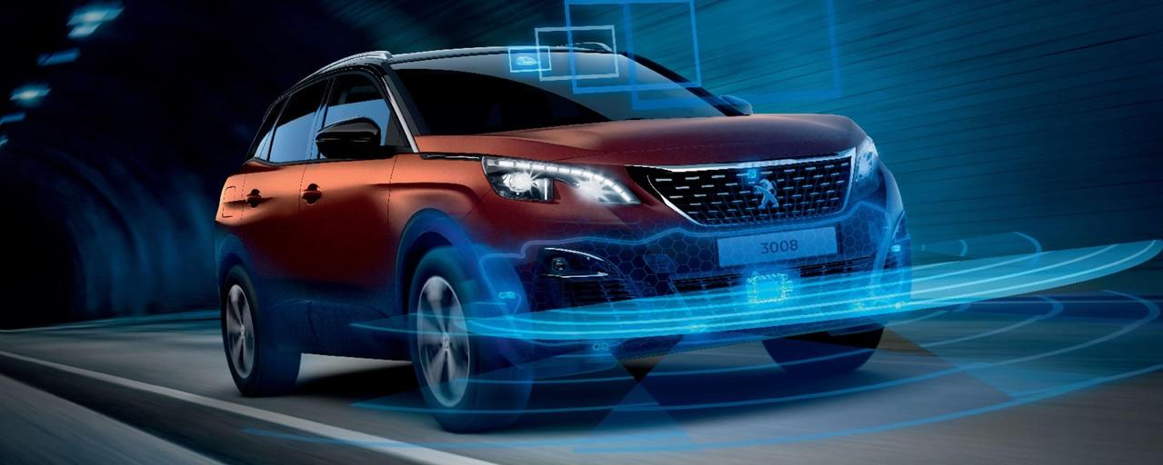 SUV PEUGEOT 3008 HYBRID4: Seguridad y ayudas a la conducción