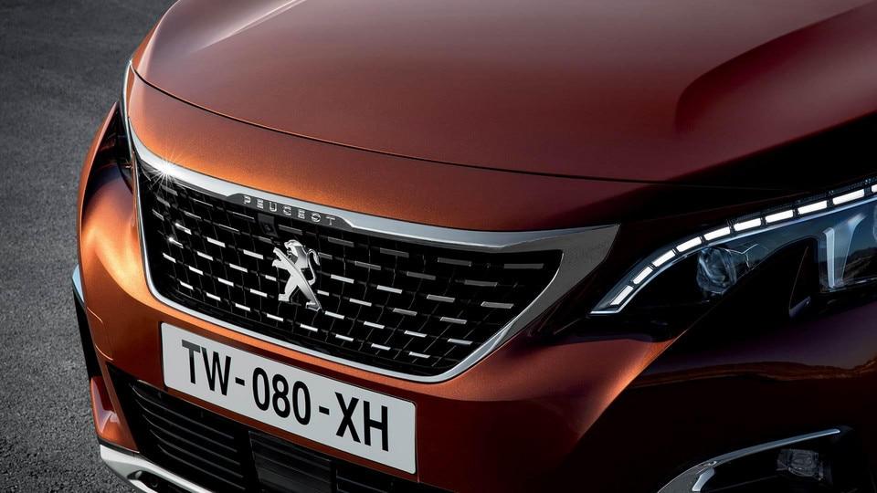 Nuevo SUV Peugeot 3008 Calandra Rejilla
