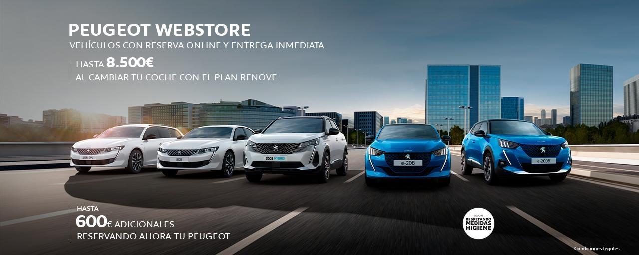 Webstore Gama Peugeot