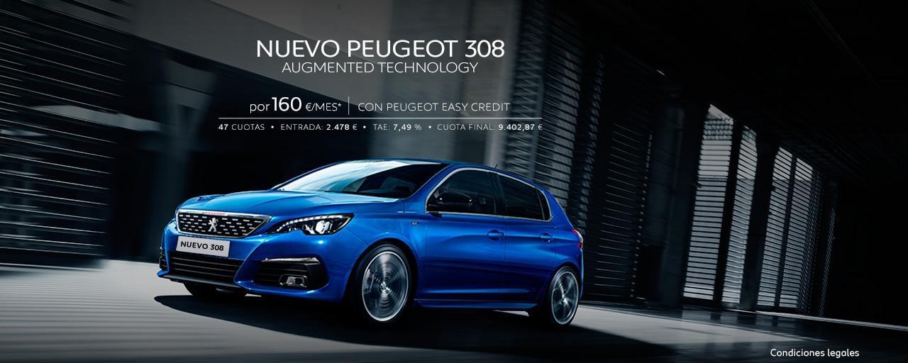 Nuevo Peugeot 308 5 puertas