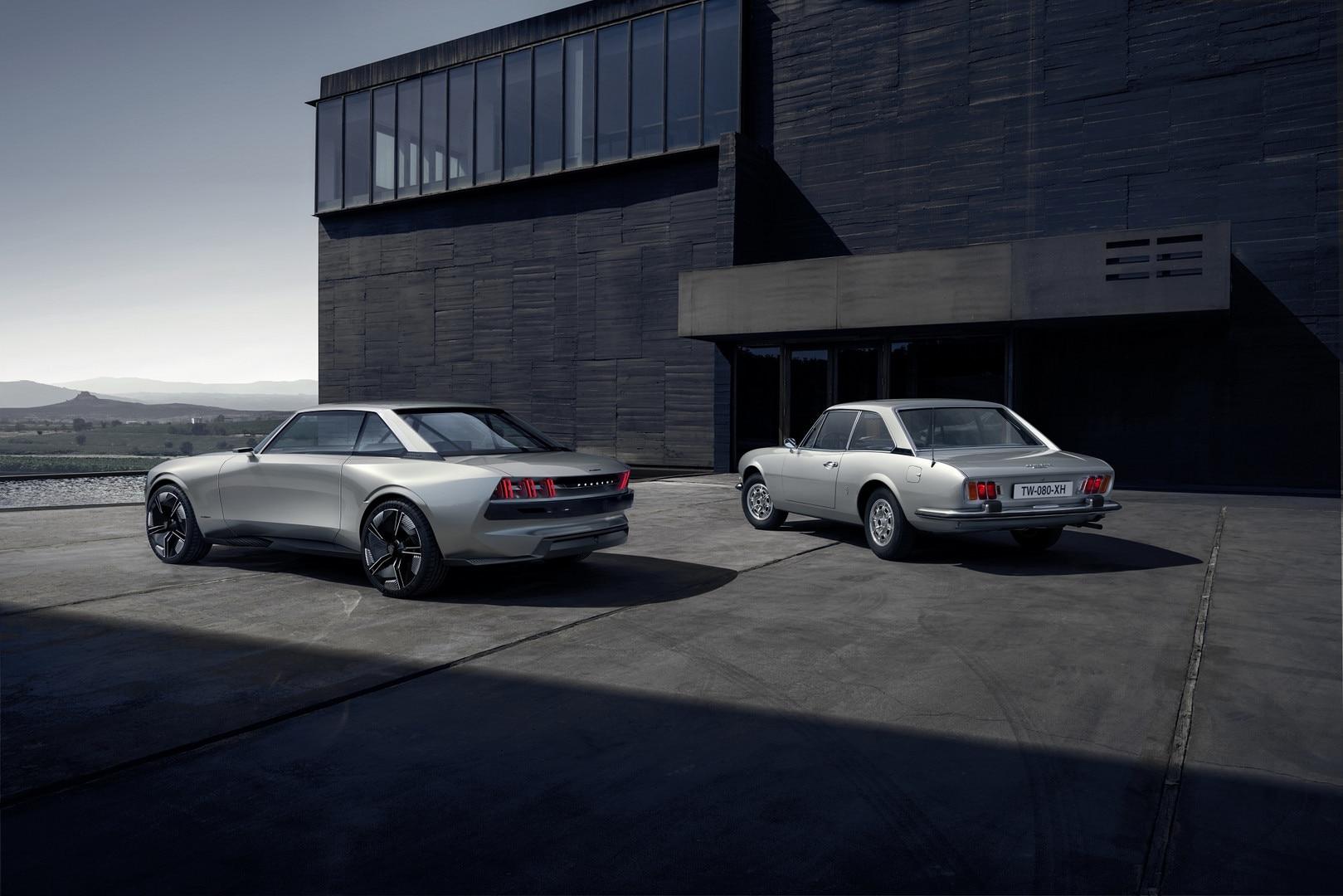 Fotos Y Videos Del Peugeot E Legend Concept