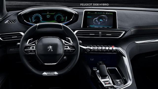 SUV PEUGEOT 3008 HYBRID4: i-Cockpit®