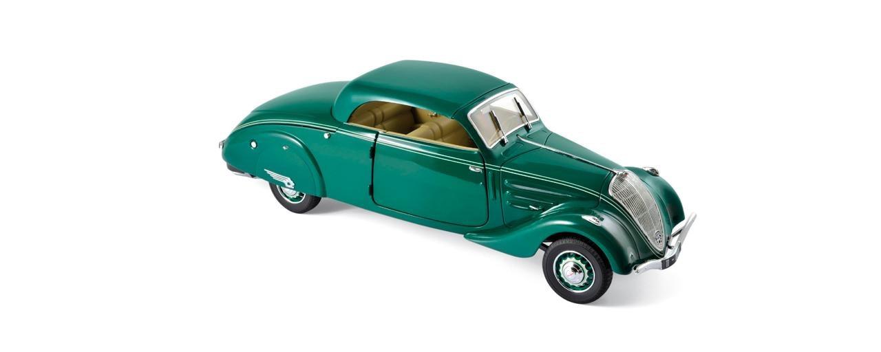 Peugeot lanza miniaturas clasicas noticia