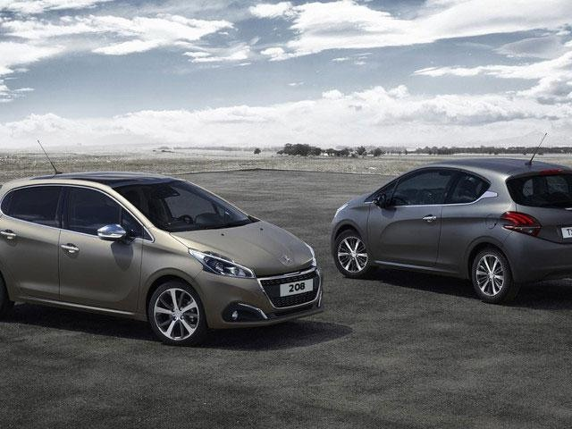 Peugeot 208 color texturizado Ice Grey