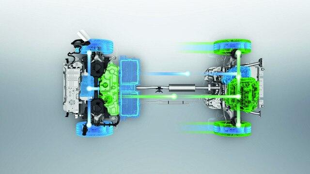 PEUGEOT 3008 GT HYBRID4: Modo 4x4 (motor térmico y refuerzo eléctrico)