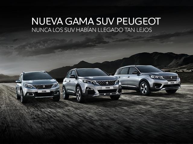 Nueva Gama SUV Peugeot