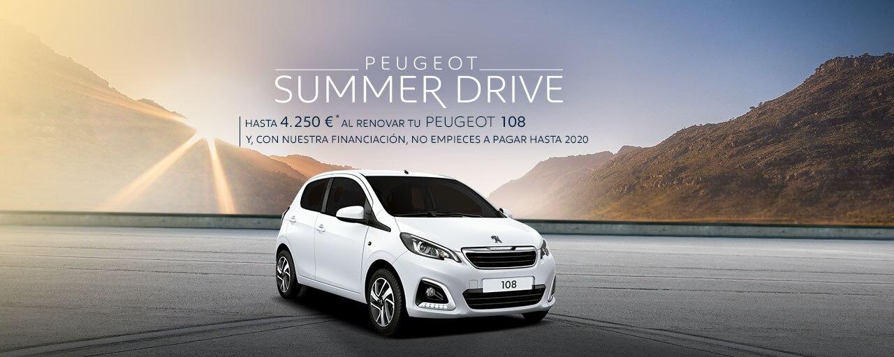 Peugeot 108 - Summer Drive