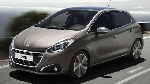 Peugeot 208 coche urbano Ice Grey