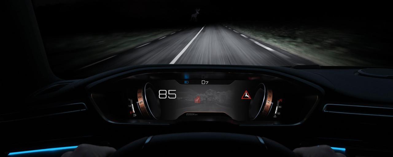 Nuevo Peugeot 508 SW Realidad Aumentada